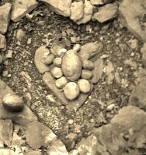 Heart Stone Landscape
